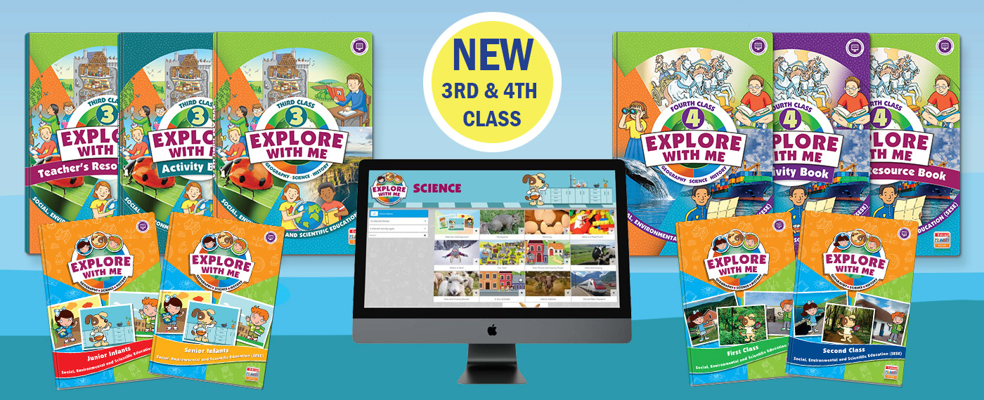 New Explore with Me 3rd & 4th Class - 2021